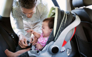 Baby suddenly hates car seat