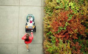 benefits of running with a jogging stroller