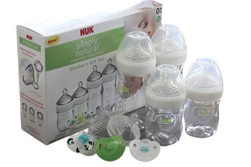 NUK Simply Natural Bottles Gift Set