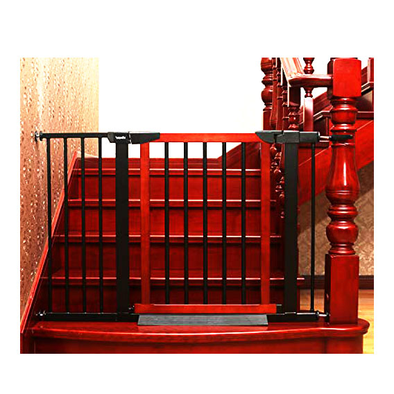 Regalo 2 in 1 Stairway Hallway Wall Mounted Baby Gate
