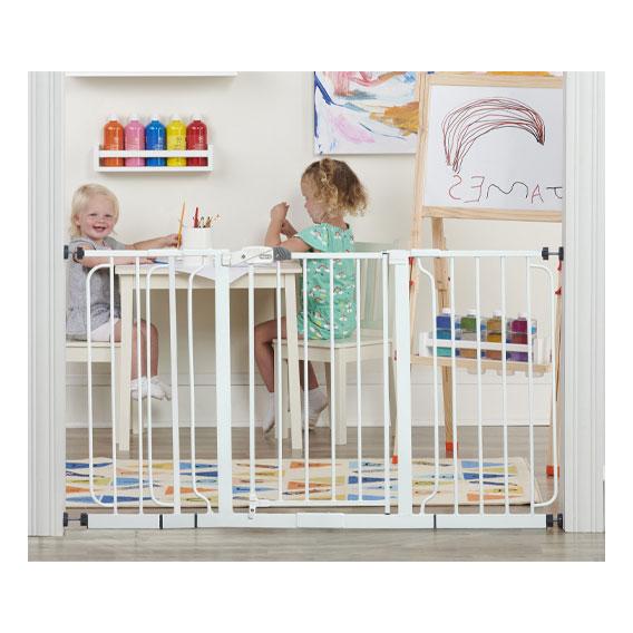 Regalo 56 Inch Extra Wide Walk Through Baby Gate