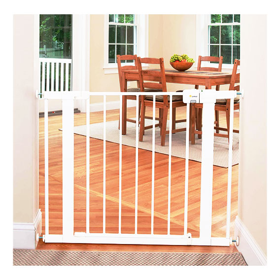 Safety 1st Easy Install Metal Baby Gate with Pressure Mount