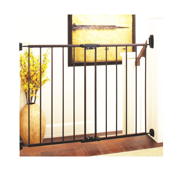 """Toddleroo by North States 47.85"""" Wide Easy Swing & Lock Baby Gate"""