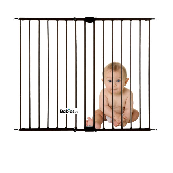 Toddleroo by North States 47.85 Wide Easy Swing Lock Baby Gate